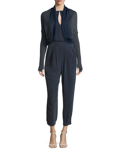 Go Cocoon Sweater & Go Dressed To Kill Jumpsuit