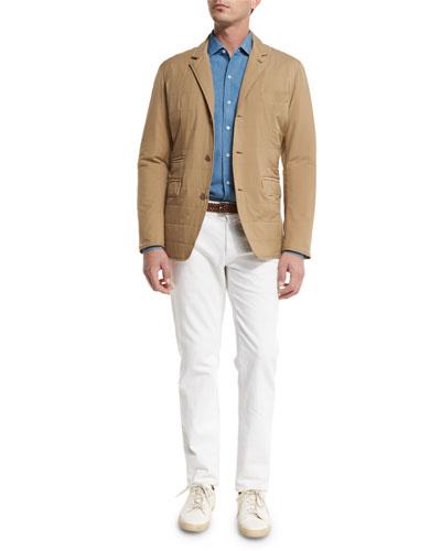 Shirt, Jacket, & Jeans
