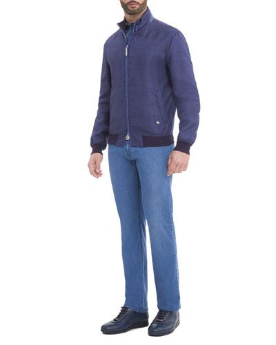 Jacket, Jeans, & Shirt