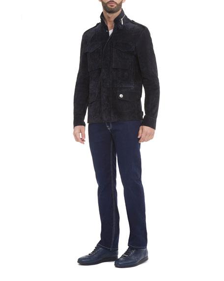 Suede Field Jacket