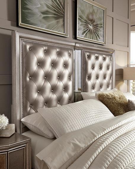 Vivian Tufted King Bed