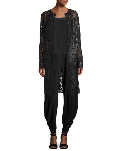 Kersten Draped Harem Pants, Black and Matching Items