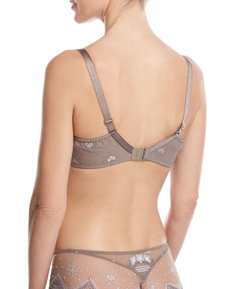 Seychelles Escale 3-Part Full-Bust Bra, Beige
