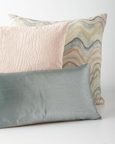 Mist, Blush, & Waves Pillows