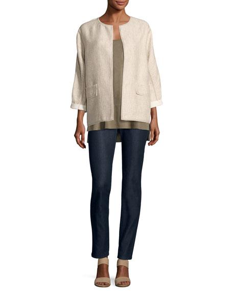 Beatriz Rustica Cotton/Linen Jacket, Multi