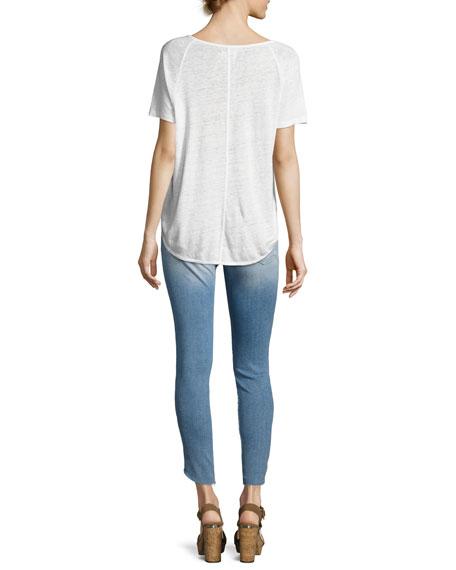 Dolphin Linen T-Shirt