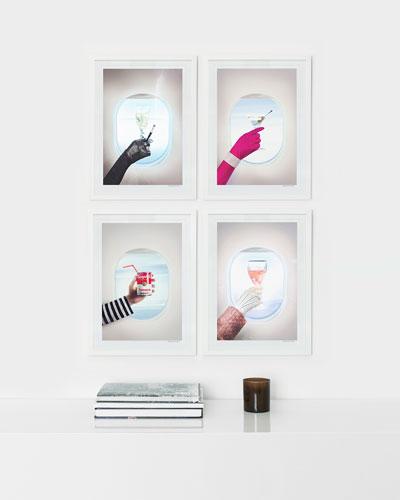 Bon Voyage Framed Prints