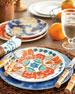 Berry & Thread Melamine Whitewash Dessert/Salad Plate