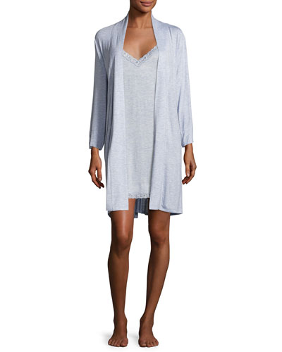 Feathers Essential Short Jersey Robe and Matching Items