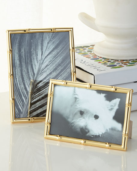 """""""Mayotte Bamboo"""" Frame, 5"""" x 7"""""""