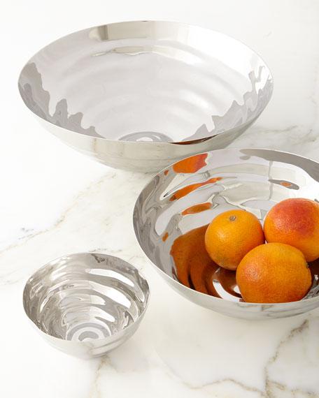 Ripple Effect Large Serving Bowl