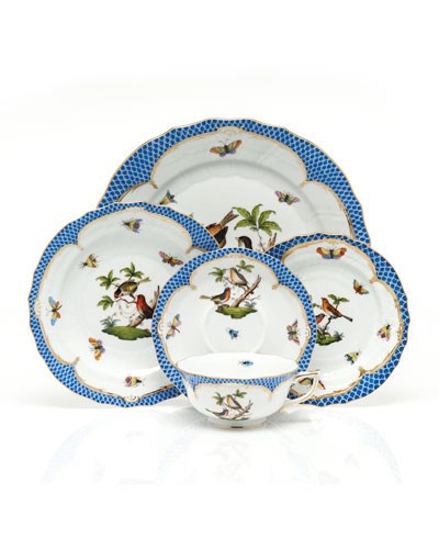 Rothchilds Bird Blue Salad Plate and Matching Items