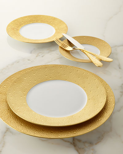 Ecume Gold Salad Plate and Matching Items