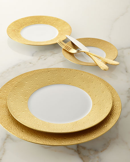 Ecume Gold Charger Plate