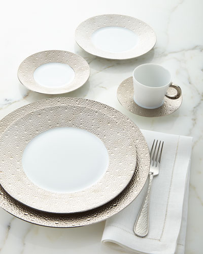 Ecume Platinum Salad Plate and Matching Items