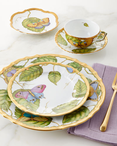 Exotic Butterflies Salad Plate and Matching Items