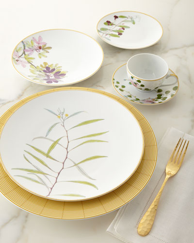Jardin Indien Salad Plate and Matching Items