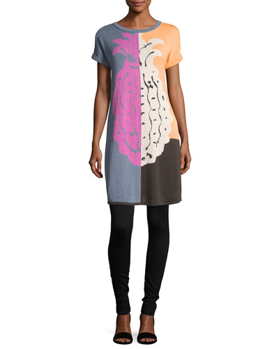 Divisional Short-Sleeve Tunic, Petite  and Matching Items