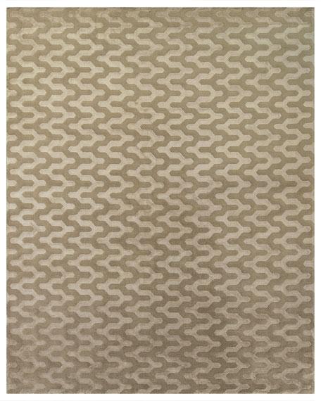 Tycen Grid Rug, 6' x 9'