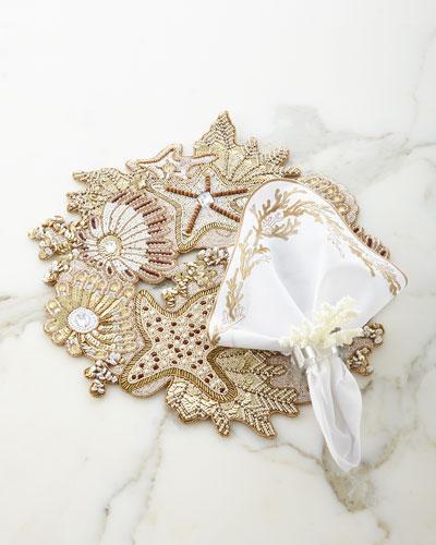 Sea Odyssey Placemat, Reef Napkin & Napkin Ring