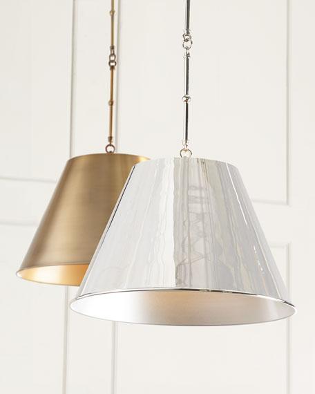 Silver Aiden 1-Light Pendant