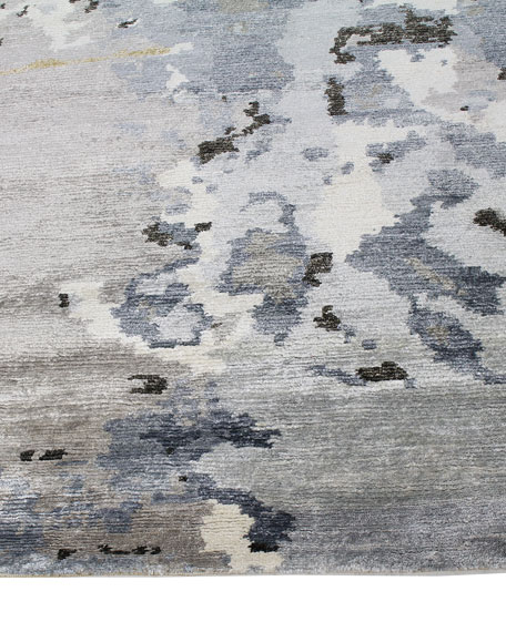 Marley Hand-Knotted Rug, 6' x 9'