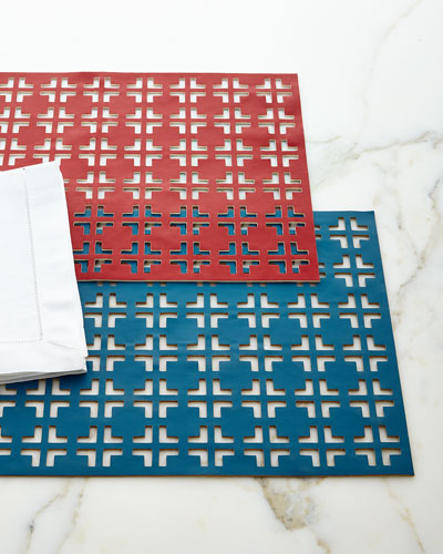 Reversible Grid Placemats