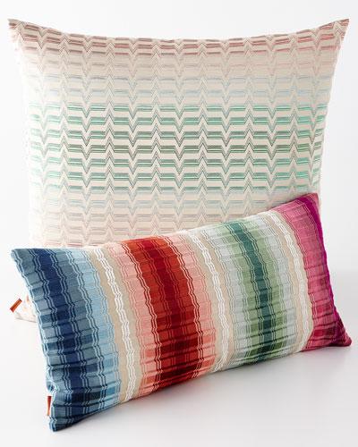 Tulum and Tikal Pillows