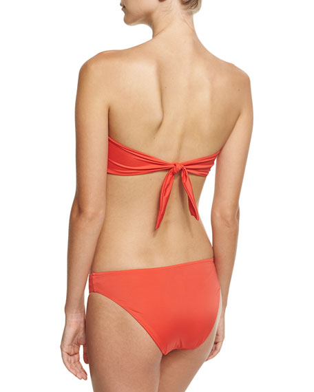 Epure Naturelle Bandeau Swim Top, Orange