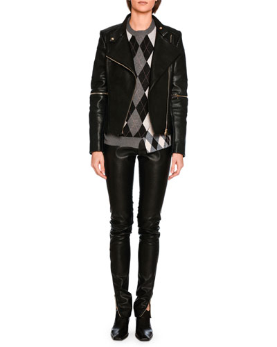 Darcelle Faux-Leather Trousers, Black and Matching Items