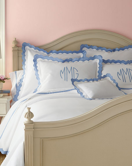King Paloma Pique Coverlet