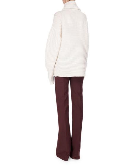 Victoria Paneled Boot-Cut Pants
