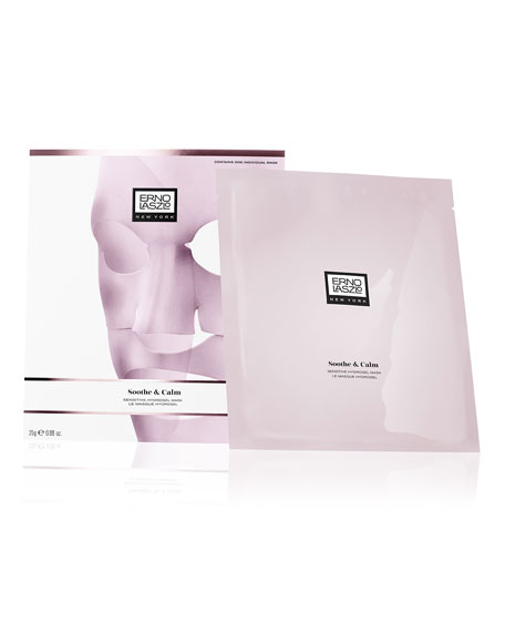 Soothe & Calm Sensitive Hydrogel Mask, 4 count