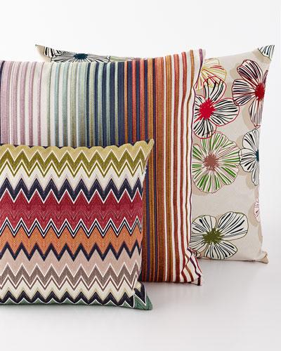 Togo, Tunisi, and Tsavo Pillows