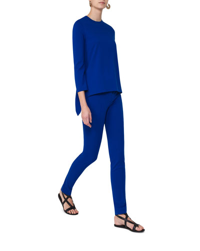 Mara Flat-Front Jersey Pants and Matching Items