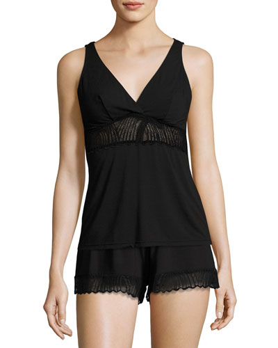 Minoa Lace-Trim Sleep Shorts and Matching Items