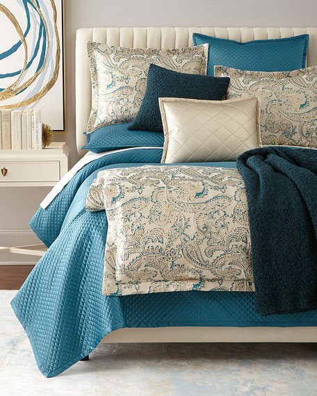 Queen Arabesque 3-Piece Duvet Cover Set
