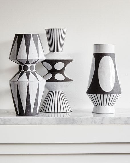 Palm Springs Dots Vase