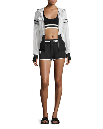 Allegro Crop Top/Sports Bra, Black and Matching Items