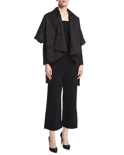 Felbridge Slit-Detail Off-the-Shoulder Jumpsuit, Black and Matching Items
