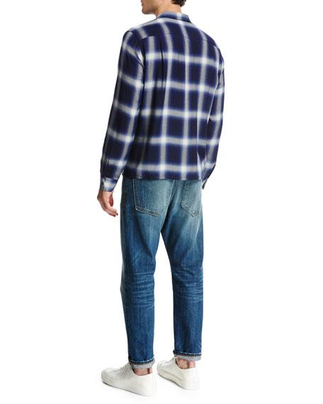 Short-Sleeve Pima Crewneck Jersey T-Shirt
