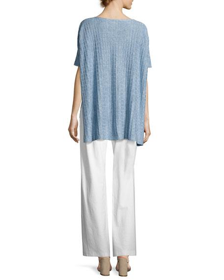 Lightweight Linen Melange Top