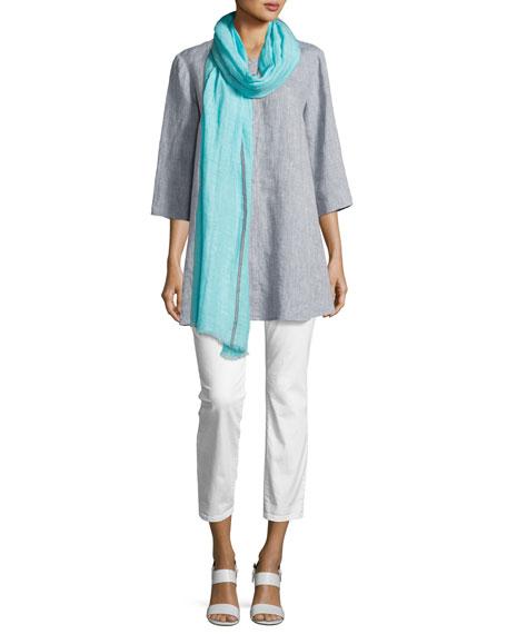 Yarn Dyed Handkerchief Tunic, Chambray