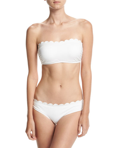 scalloped hipster swim bottom and Matching Items