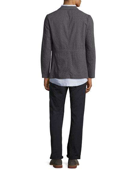Selvedge Twill 5-Pocket Pants, Navy