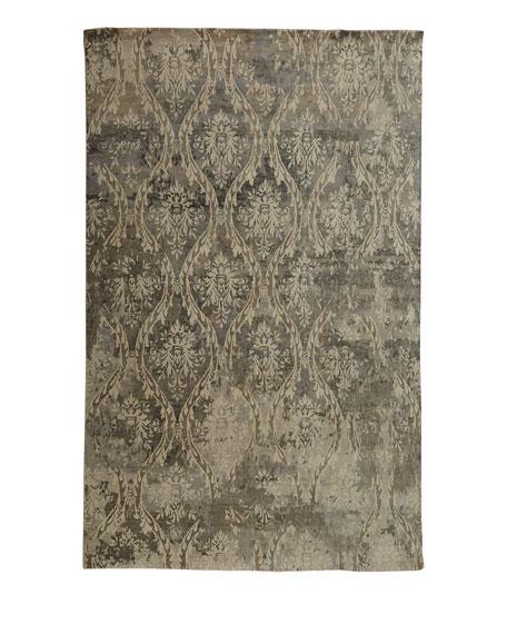 Royal Manor Wool Rug, 6' x 9'