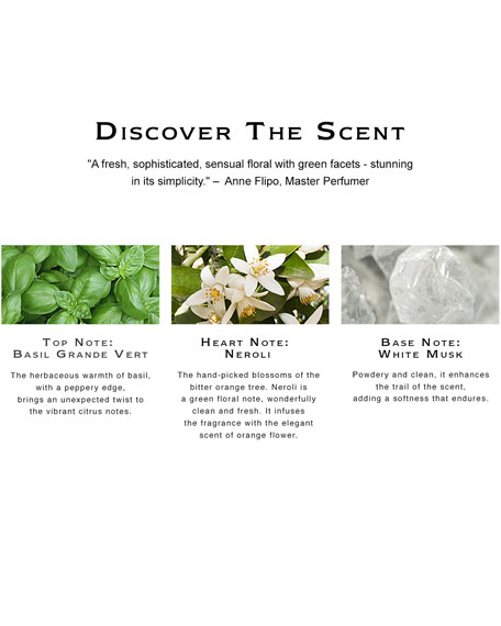 Basil & Neroli Cologne, 1.0 oz./ 30 mL