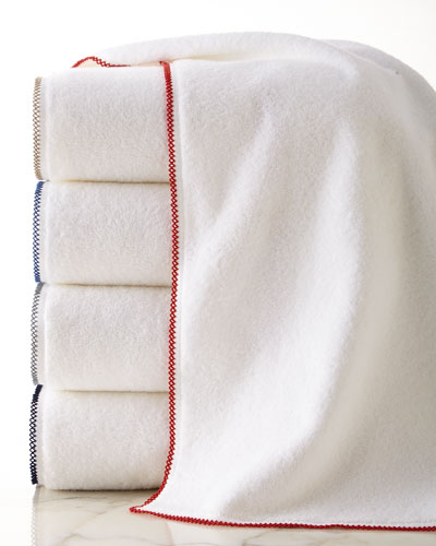 Picot Bath Towels