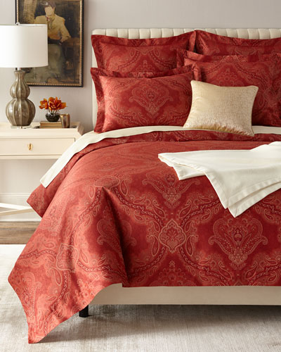 Floral Paisley Bedding
