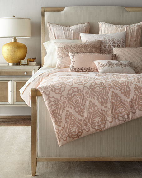 Rose Gold Queen Duvet Cover